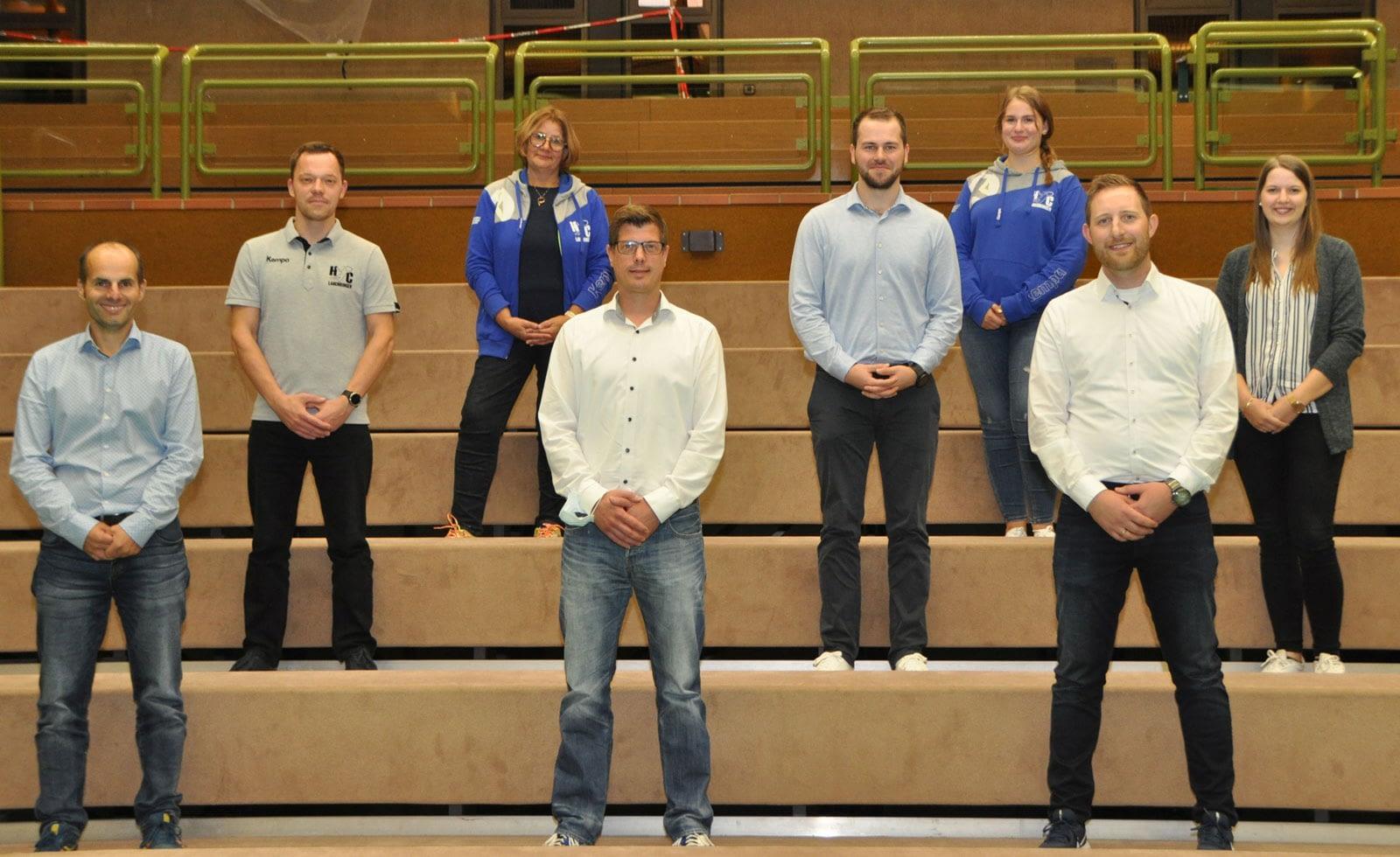 Vorstandschaft Handballclub Lauchringen