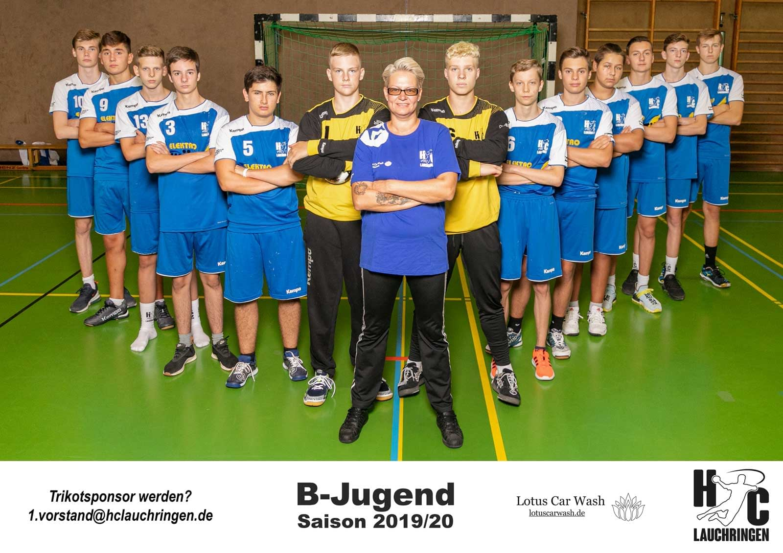 B-Jugend männlich HC Lauchringen